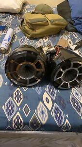 "Wet Sounds Rev 8 B-SC 8"" Marine Tower Speakers"