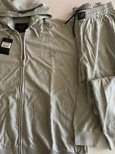 NEW Paul & Shark Yachting Jacket TRACKSUIT Pants Hood Cotton GREY 4XL