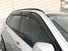 Premium Weathershields Weather Shields Window Visor for BMW X5 F85 15-17 4pcs