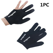 Black Spandex Billiard Glove Pool Left Hand Three Finger Dropshippin Accessory