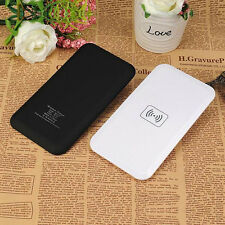 QI Wireless Charger Charging Pad Mat Plate Universal Portable For Android Phones