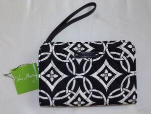 VERA BRADLEY Zip Around Wallet Wristlet - CONCERTO Black & White - NWT