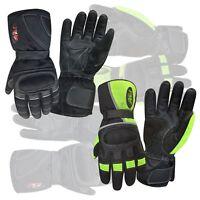 Winter motorbike motorcycle racing glove knuckle protective waterproof 9009/9010