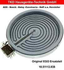 Heizkörper EGO 10.51113.038 für Cerankochfeld Constructa Original NEU