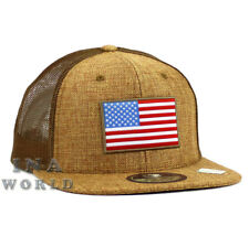 Bandera estadounidense Sombrero Estrellas Y Rayas Lino Malla Gorra De  Béisbol Gorro-tan bd1a29652ac
