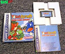 Yoshi's Island Super Mario Advance 3 en Caja Completo Game Boy Advance Gba Genuino