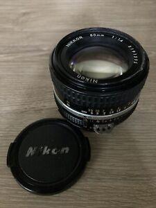 Nikon Nikkor Ai-S 50mm f/1.4 MF Prime Lens from JAPAN