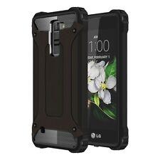 CUSTODIA SILICONE TPU E PLASTICA COVER CASE PER SMARTPHONE LG K7 LG-08