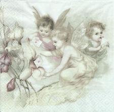 Serviettes en Papier Fée amour Sagen Vintage Decoupage Collage