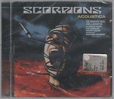SCORPIONS ACOUSTICA GREATEST HITS LIVE CD F.C.  SIGILLATO!!!