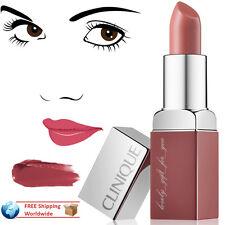 NEW IN BOX Clinique Lipstick Pop Lip Colour+ Primer 14 Plum Pop Base Lissante