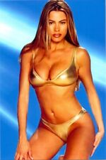 SOFIA VERGARA - IN A GOLD BIKINI !!!!!  AWESOME !!!!!!!!!!!