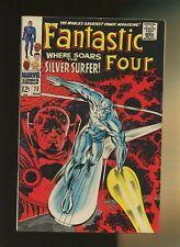 Fantastic Four 72 VG/FN 5.0 * 1 Book Lot * Silver Surfer! Stan Lee & Jack Kirby!