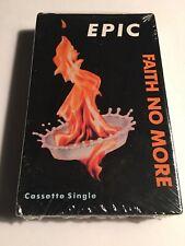 "Faith No More ""Epic"" Cassette Single 1990 New/Sealed Cassingle"