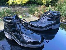 Dr. Martens 8497 black leather 5-eyelet desert ankle boots UK 10 EU 45 England