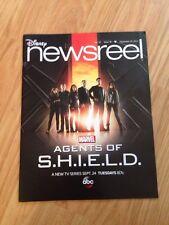 Disney Newsreel Magazine Marvel Agents SHIELD TV Series September 20, 2013 NEW