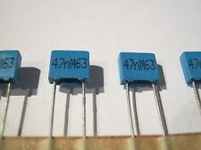 47nf, 0,047µf, 63 V, 20%, RM 5, Epcos/TDK.b32529c0473m000 20 pièces