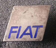 FIAT BOTTONE BLU SMALTATO 20x16mm timbrato LORIOLI MILANO ALT + ORIGINALE