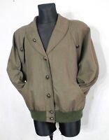 Vtg Womens LODENFREY Octoberfest Tyrol Jacket Blazer Dark Green Wool Austria 44