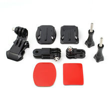 Helmet Front Adhesive Mount Bracket J-Hook Buckle for GoPro HD Hero 4 3 2 Camera