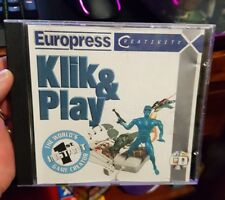 Klik And Play - Instant Game Creator -   PC CD ROM - FREE POST *