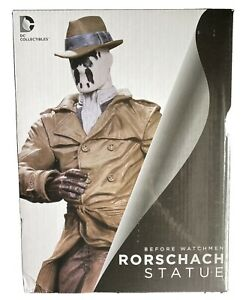 """DC Collectibles Before Watchmen Rorschach 10"""" Statue NEW"""