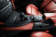 BMW E39 E46 E60 E90 M Sport Black Leather 6 Speed Manual Shifter Shift Knob ZHP