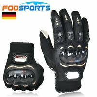 Motorradhandschuhe Sport Handschuhe Paar Motorrad Rollar Fahrrad Touch Screen DE