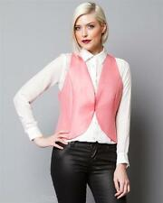 EMPORIO ARMANI MADE IN ROMANIA WOMEN PINK VEST SIZES 42, 46. RETAIL $595. BR NEW