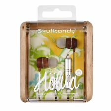 Skullcandy Holua Earbuds in Silver with In Line Microphone Brand New