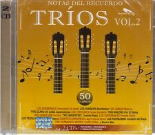 2 Discs - Notas Del Recuerdo CD NEW Trios Vol 2 50 Clasicos Various Artists NEW