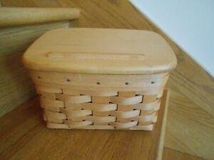 Longaberger Large Recipe Basket Set 96 Classic Rose Trellis *shipping included*