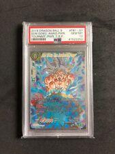 Dragon Ball Super TCG Son Goku, the Awakened Power TB1-097 SCR PSA 10 GEM MINT