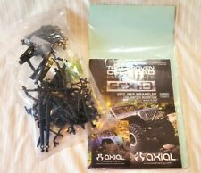 Axial SCX10 2012 Jeep Wrangler Manual, Parts & Sticker Decal Sheet
