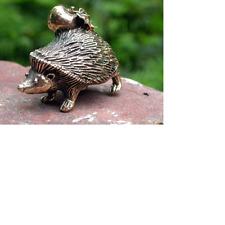 Solid  Bronze Hedgehog Miniature by N.Fedosov.