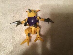 Digimon digivolving Digmon  parts figure
