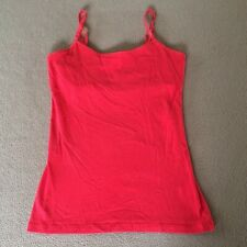 Junior's SO camisole size Small red adjustable shoulder straps