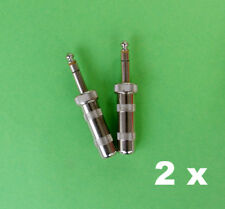 "2x 298 Switchcraft enchufe, estéreo, 1/4"", 6,35mm, pomo, precisamente, Jack"
