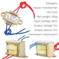 AC 220V To 12V 5W Power Transformer For Machine And Mainframe Computer