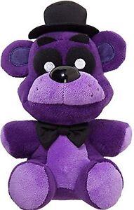 """NEW  Five Nights At Freddy's 6"""" Shadow Freddy Bear Plush Dol Toy"""
