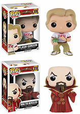 Funko POP! Movies ~ FLASH GORDON & MING THE MERCILESS VINYL FIGURE SET
