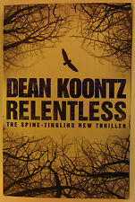 #^2, Dean Koontz RELENTLESS S/cover Postage Fast & FREE Ask Agnes
