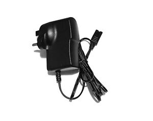 MAINS POWER CHARGER UK PLUG FOR WAHL CUSTOM SHAVE 7367-200 ELECTRIC SHAVER
