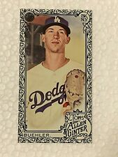2019 Topps Allen Ginter Walker Buehler #33 Black Border Mini Los Angeles Dodgers