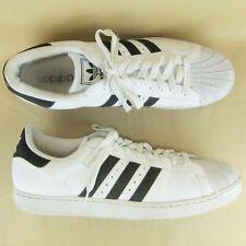 Adidas Sneaker Duck Toe Fashion US 17 EU 52.5 Men Leather White Black