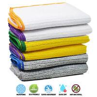 Towelogy® Microfibre Dish Washing Cloths Super Absorbent Thick Kitchen Tea Towel