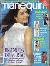 MANEQUIM BRAZILIAN MAGAZINES - LOT 2 MAGAZINES - PATTERNS INSIDE -  BRASIL