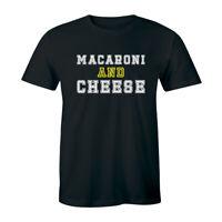 Macaroni And Cheese - Funny Macaroni Food Lover Chef Men's T-shirt Tee