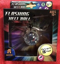 Motion Sensing RC Flying Heli Ball Toy W/ Remote Control LED Flashing Helicopter