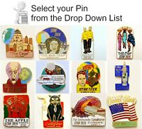 Original Star Trek Classic TV  Episode Pin Collection- 79 in Series- Your Choice